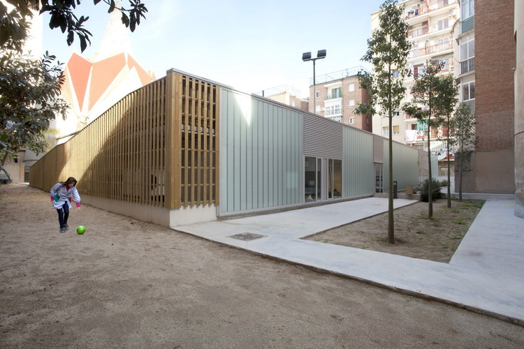 Escuela en San Medir / rdl arquitectos, © Marc Capilla Llop
