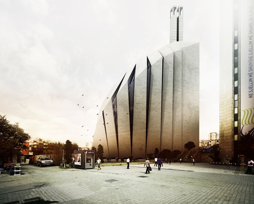 Central Mosque of Pristina Competition Entry / Tarh O Amayesh, Courtesy of Tarh O Amayesh