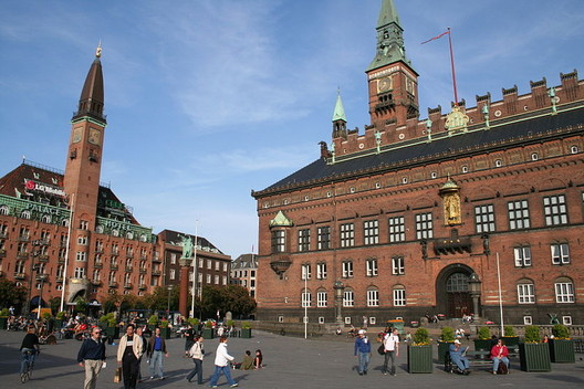 Town Hall Square of Copenhagen, once considered to be modern and modernistic. Image courtesy of Wikimedia Commons User Karri Huhtanen