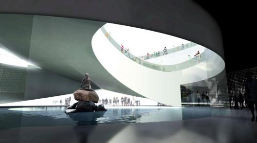 BIG es entre otros proyectos conocido por el Pabellón de Dinamarca en la Expo Shanghai. Imagen cortesía de BIG