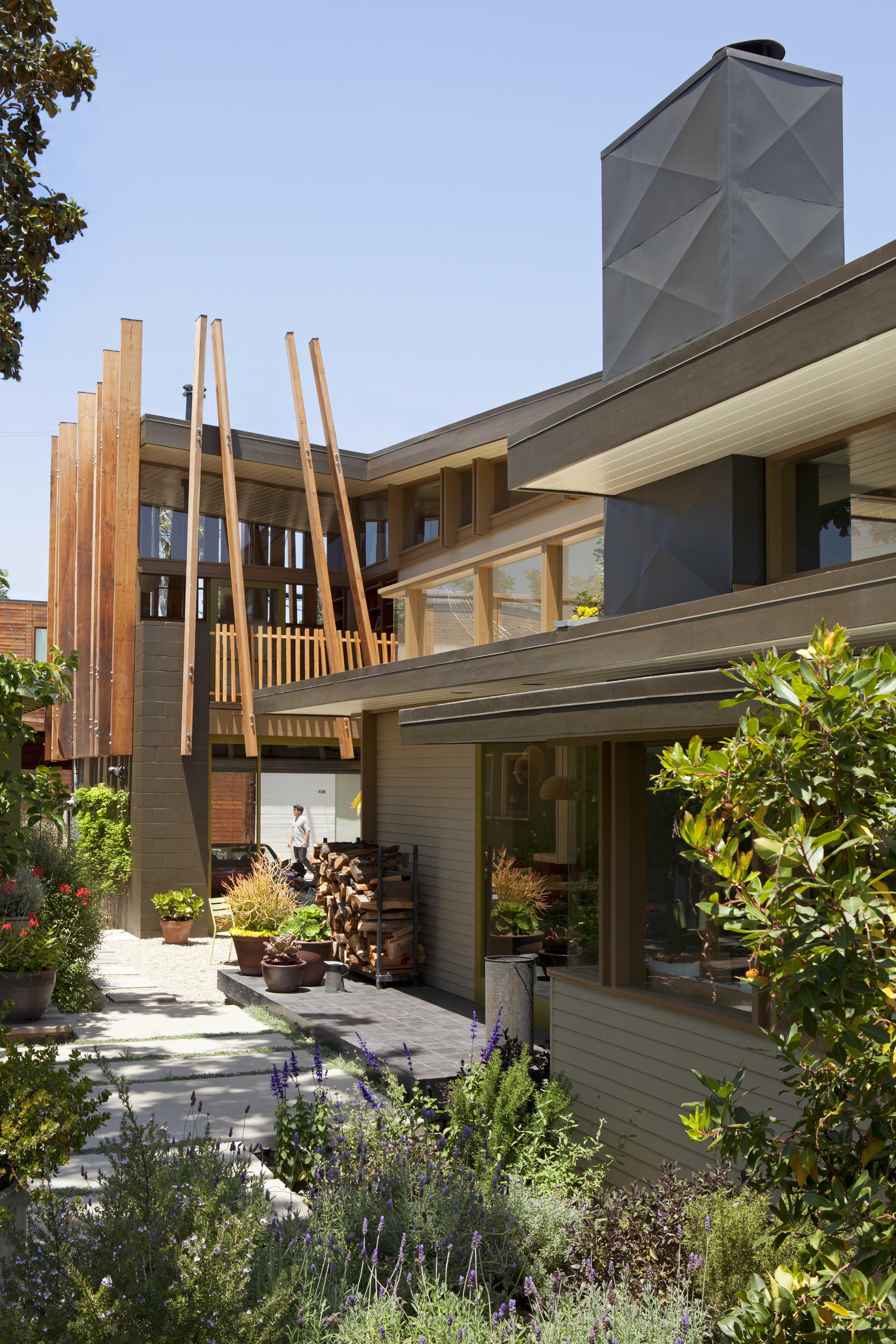 Gallery of smith clementi residence rios clementi hale - Residence inversee studios architecture en californie ...