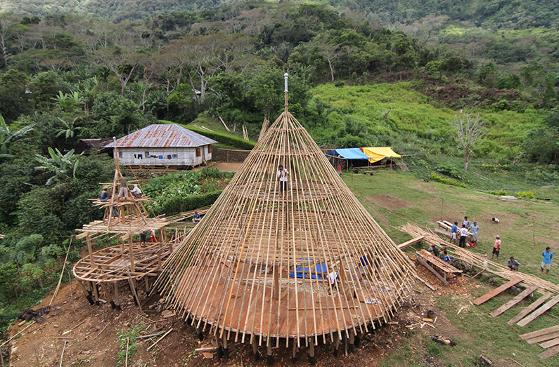 Preservation of the Mbaru Niang, Wae Rebo Village, Flores Island, Indonesia / Rumah Asuh/Yori Antar © AKAA / Courtesy of Architect
