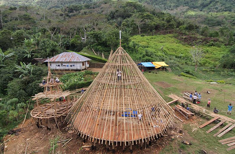 Preservation of the Mbaru Niang, Wae Rebo Village, Flores Island, Indonesia / Rumah Asuh/Yori Antar © AKAA / Courtesy of Architect
