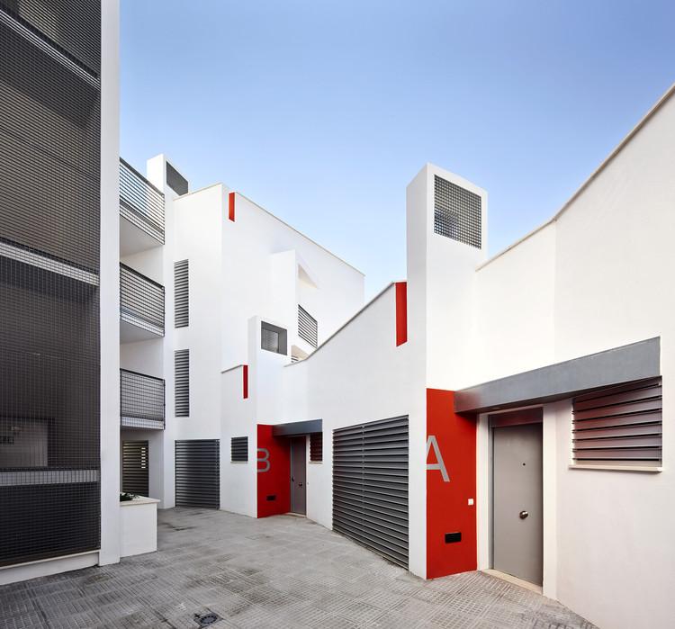 Can Cantó 14 Viviendas de protección social / Castell-Pons Arquitectes, © José Hevia