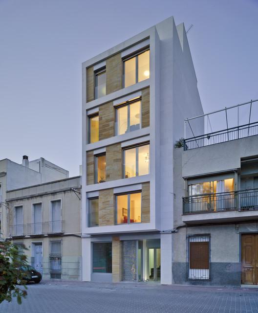 Edificio Residencial en Cieza / Xavier Ozores, © David Frutos