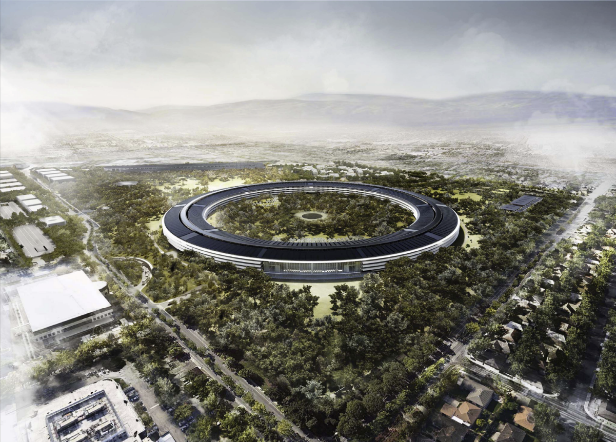 © Foster + Partners, ARUP, Kier + Wright, Apple