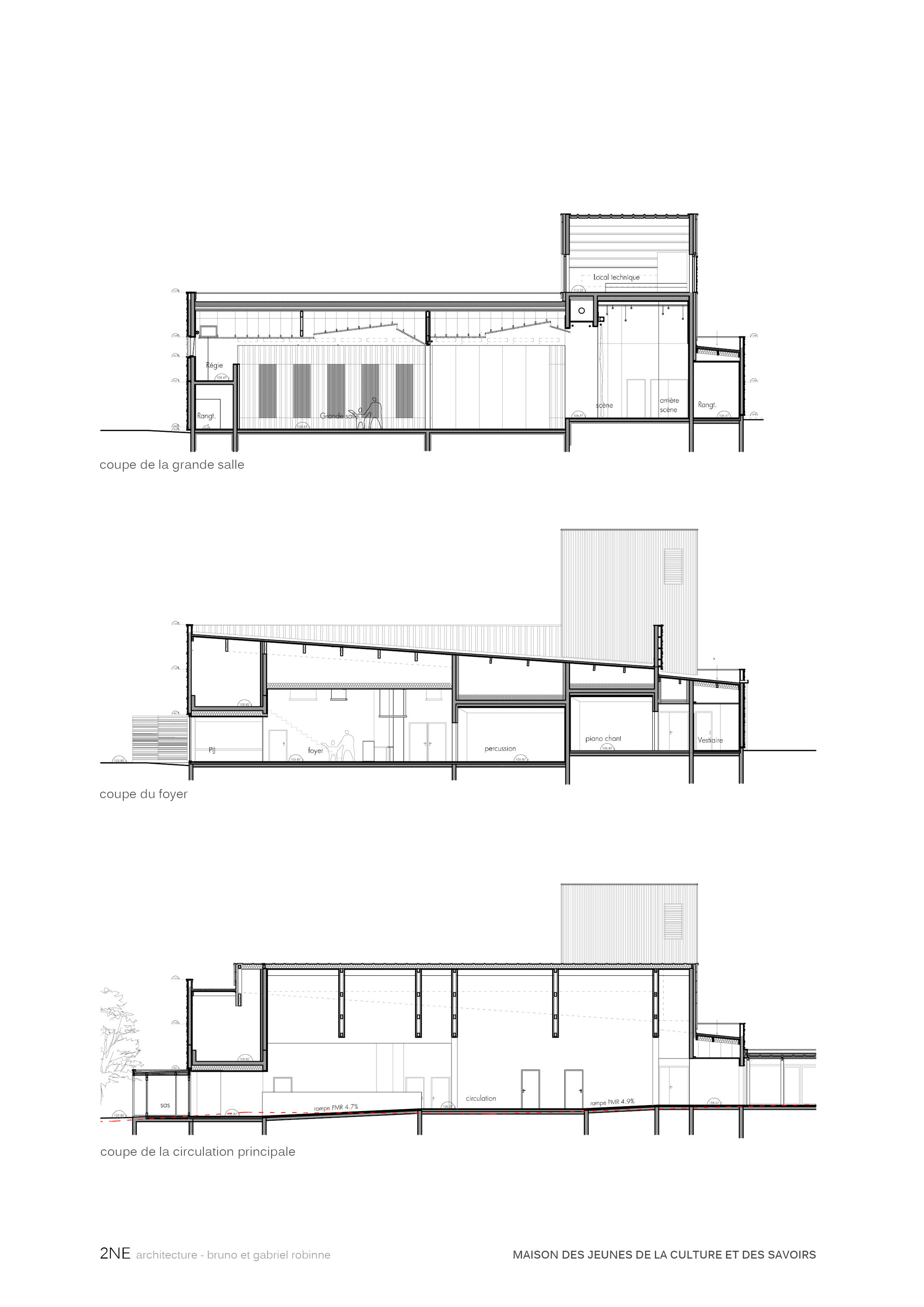 Plan de coupe de maison plan de maison en afrique - Plan de coupe maison ...