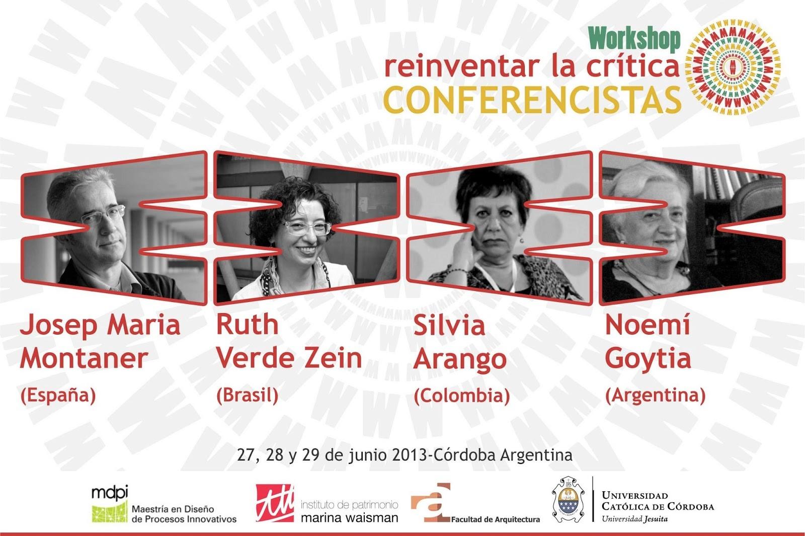 Workshop en Córdoba: Reinventar la Crítica