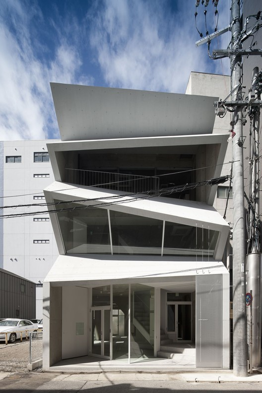 HASE BLDG.8 / C+A Coelacanth and Associates, © Hiroshi Ueda
