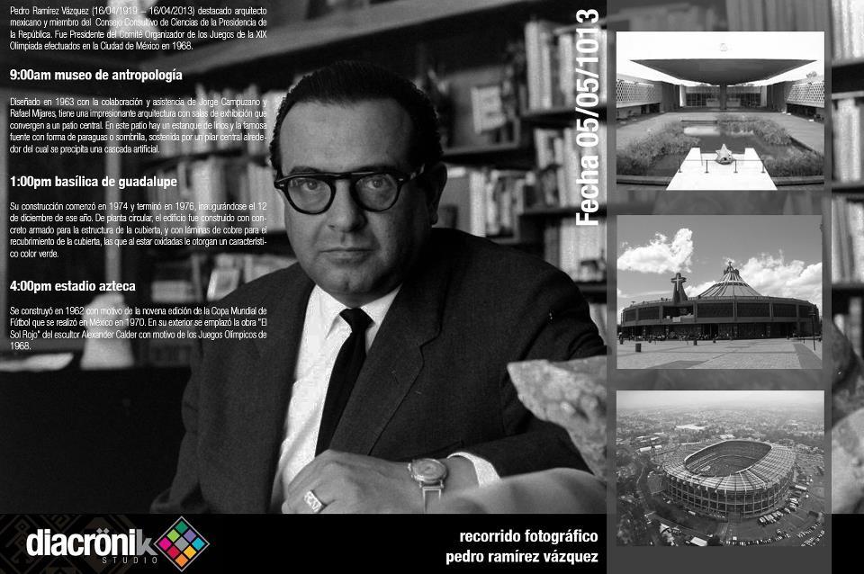 Diacronik Studio presenta Recorrido Fotográfico: Pedro Ramírez Vázquez, Courtesy of Diacronik Studio