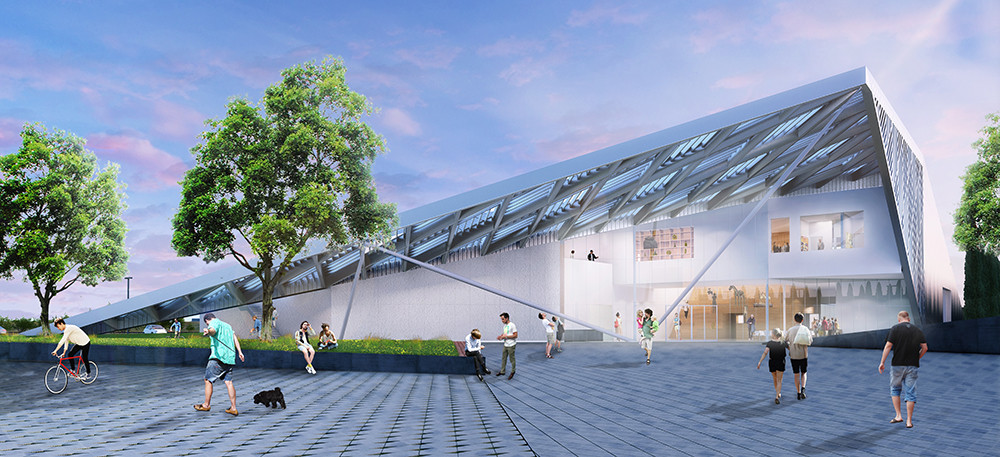 UC Davis Art Museum Proposal / WORKac, Courtesy of WORKac Architecture