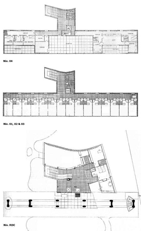 gallery of ad classics swiss pavilion le corbusier 7. Black Bedroom Furniture Sets. Home Design Ideas