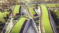 Kagithane Gardens: Oficinas con grandes techos verdes para Estambul / JDS Architects