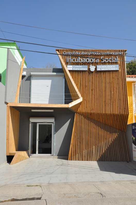 INCUBADORA SOCIAL ITESM-BANCOMER / SHINE Architecture , Cortesía de SHINE Architecture