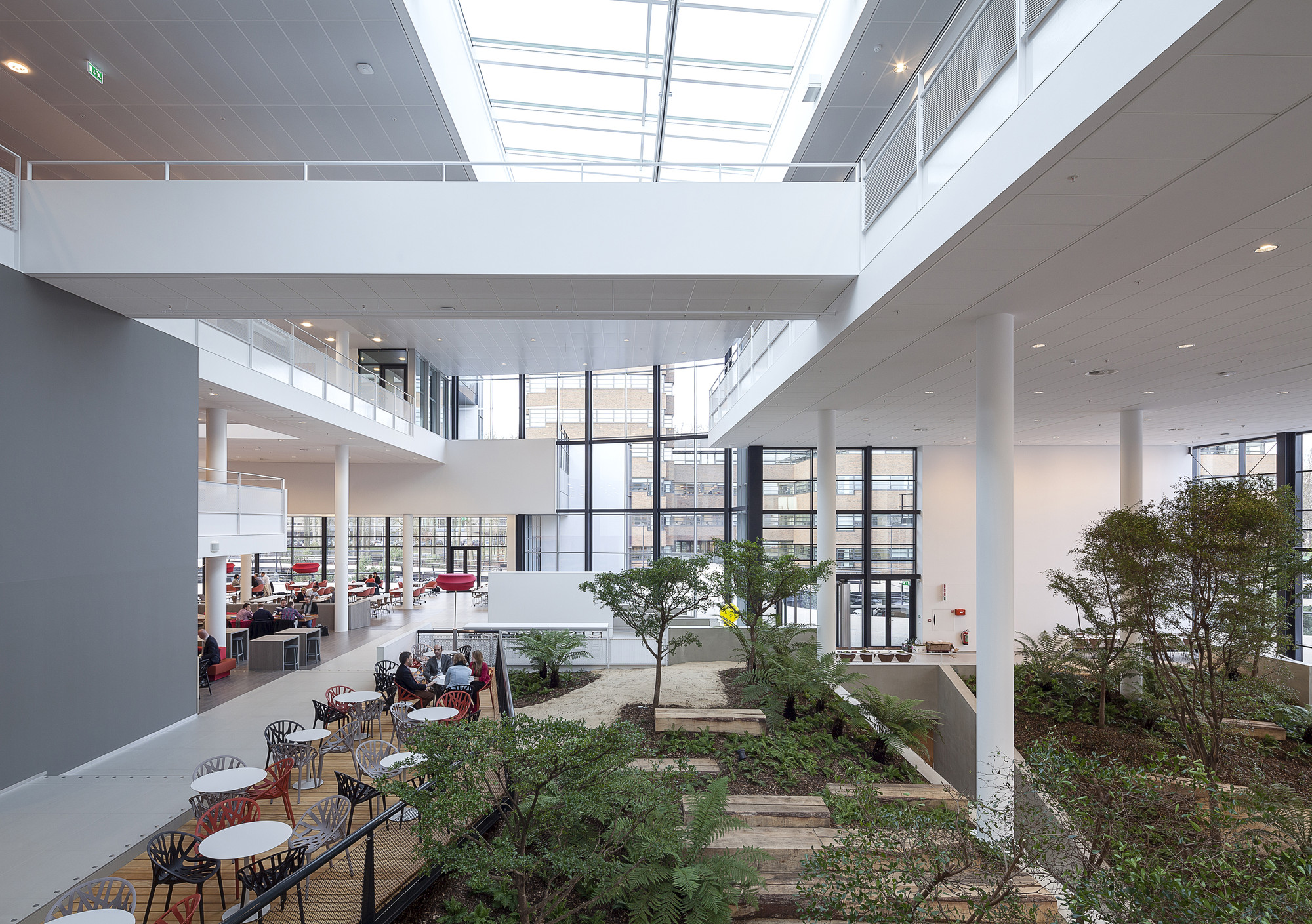 Gallery of conference center in corporate campus apeldoorn for Country plans com