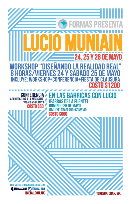 Conferencia, Workshop y Visita de Obra / Lucio Muniain
