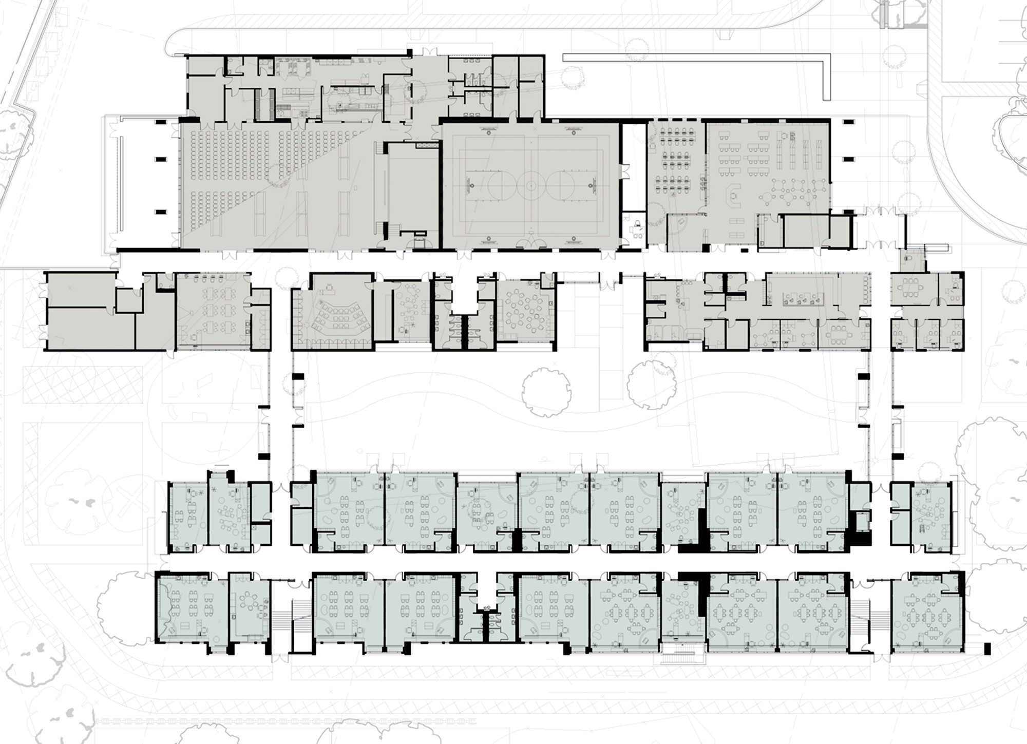 gallery of memorial elementary school / digrouparchitecture - 15