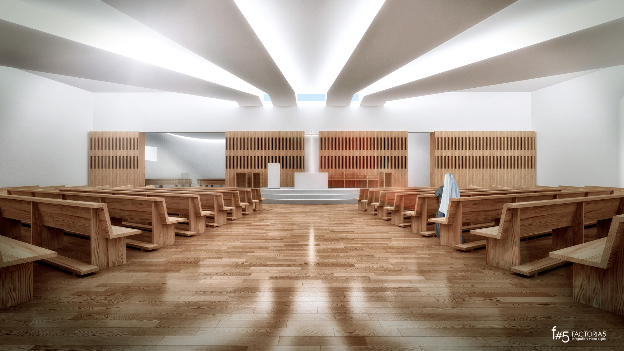 Iglesia Nossa Senhora das Necessidades - Célia Faria + Inês Cortesão