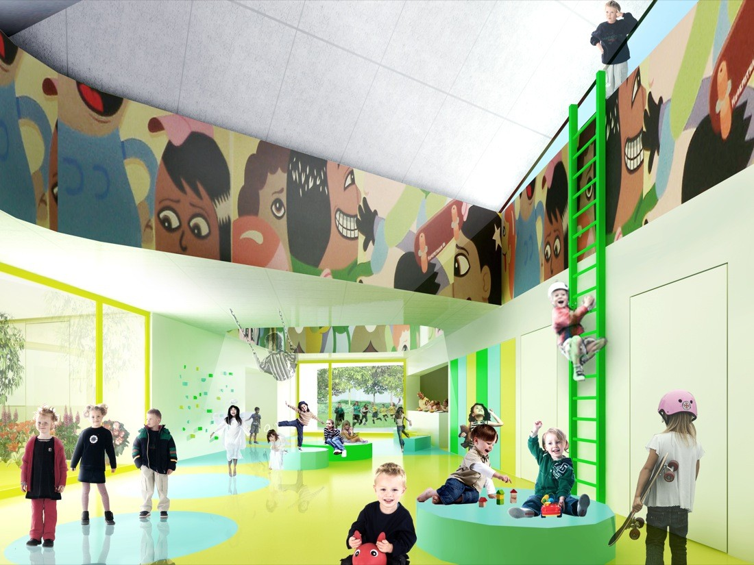 Design Kindergarten in Denmark (via openbuildings.com)