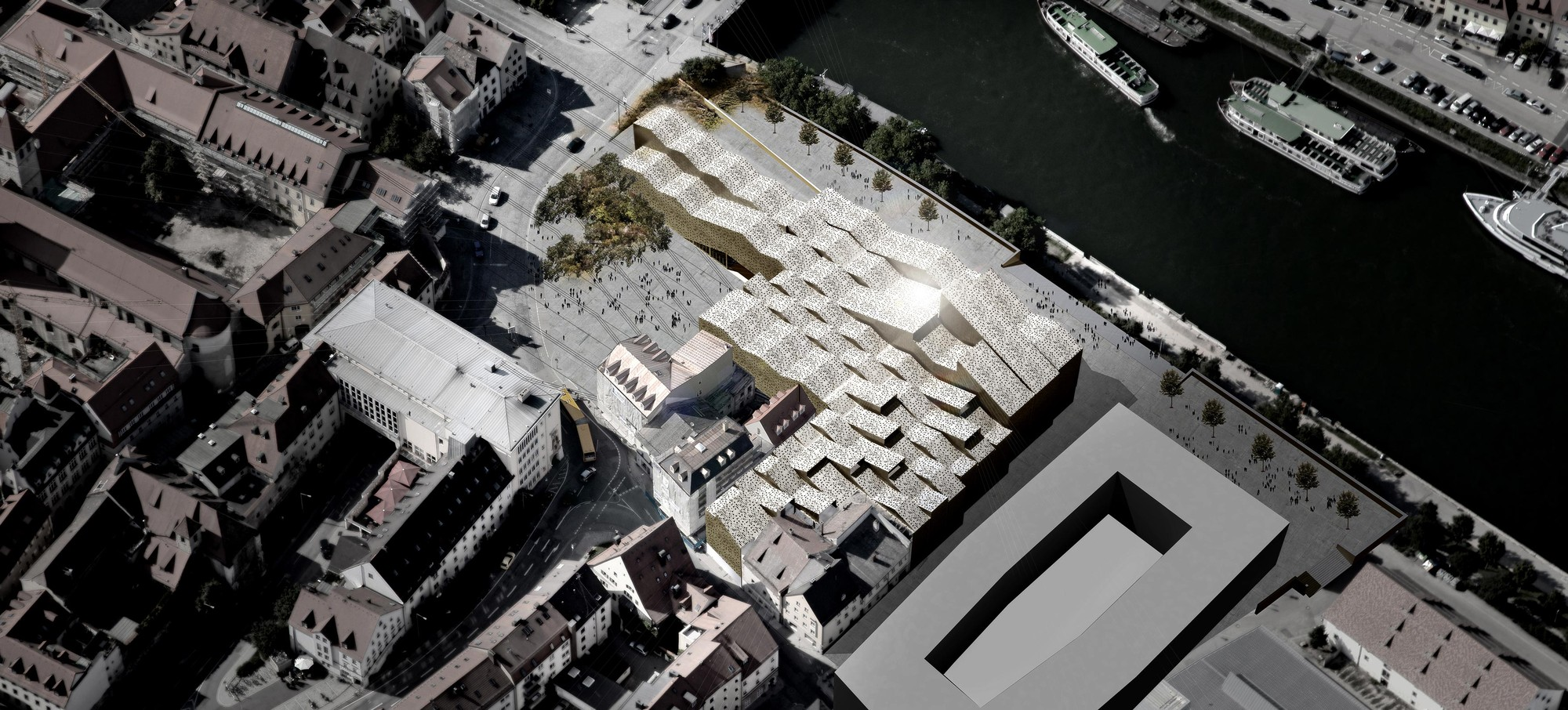Gallery of bavarian history museum competition entry x for Team x architecture