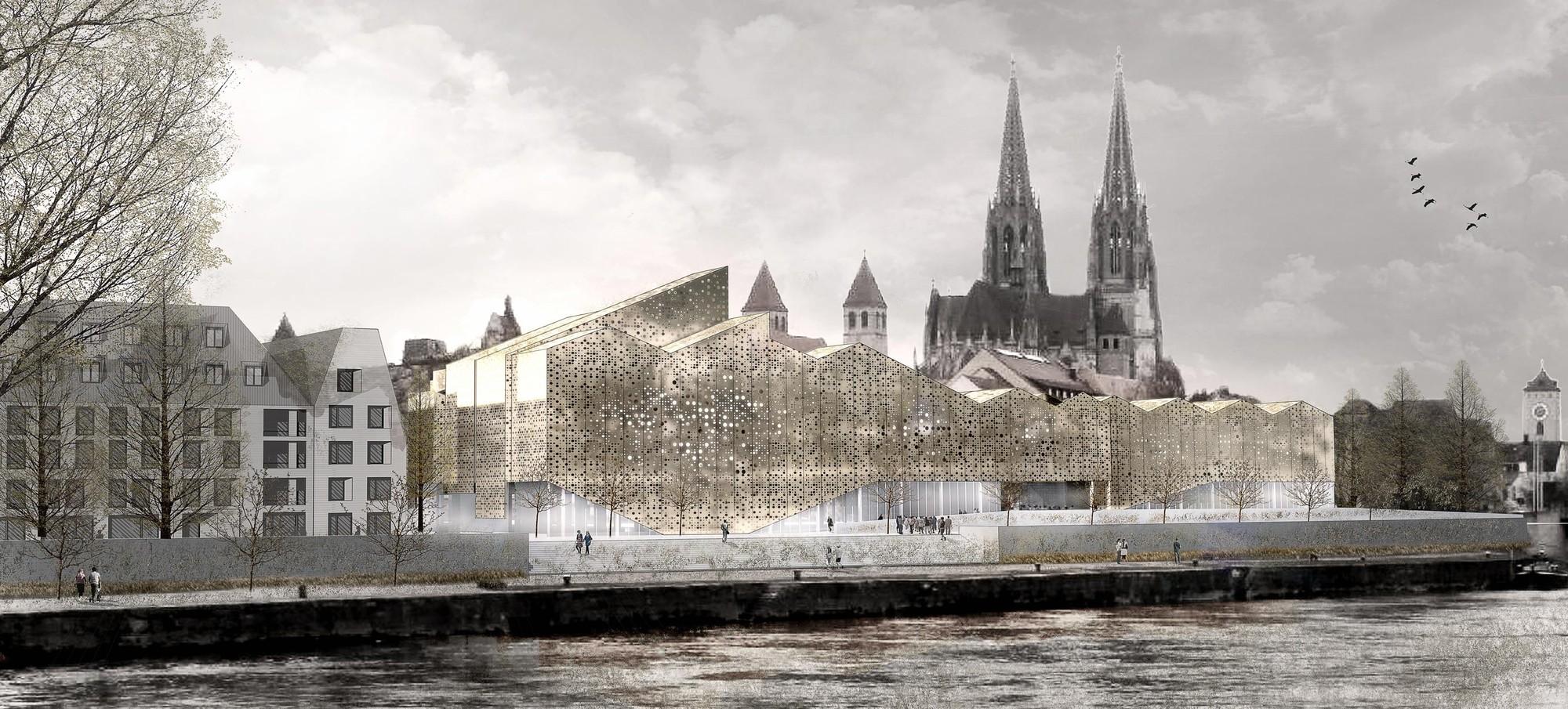 Bavarian History Museum Competition Entry / X+UN Architecture, Courtesy of X+UN Architecture