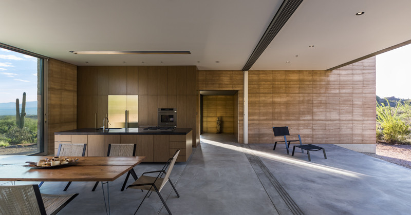 Gallery of tucson mountain retreat dust 3 for Mountain architects