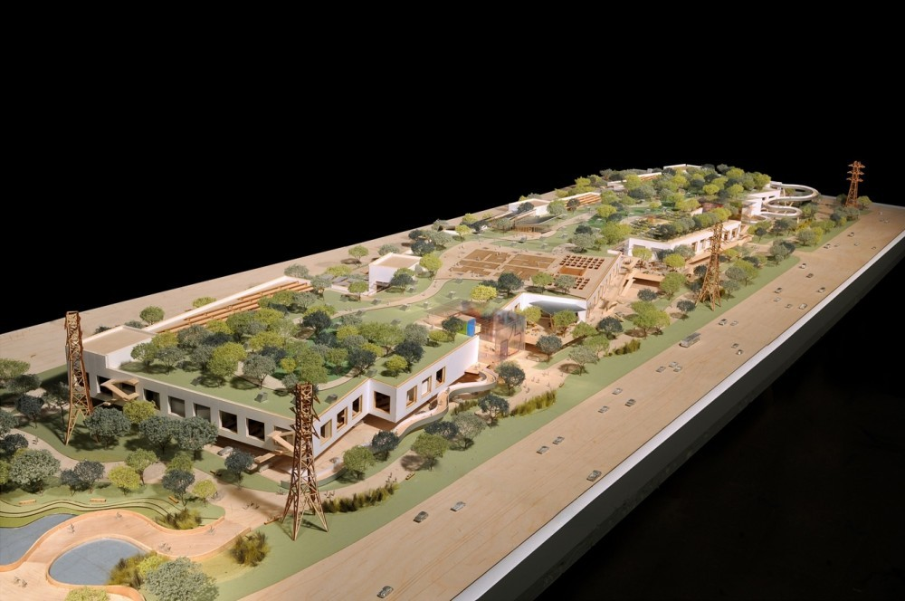 Facebook's New Campus (via bloomberg)