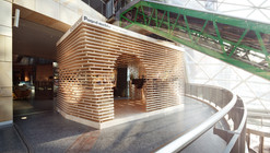 Custore Pavilion / Anna Dobek + Mateusz Wojcicki