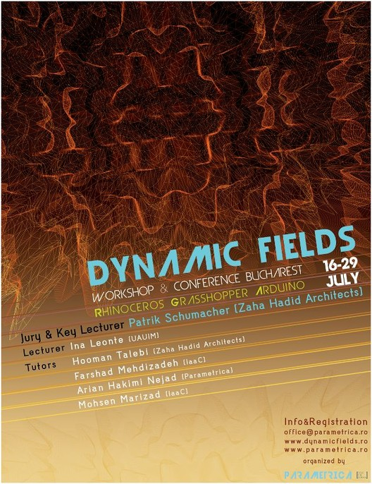 Dynamic Fields Workshop: Special Guest Patrik Schumacher, Courtesy of Parametrica