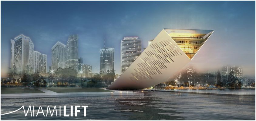 DawnTown 2013: Landmark Miami Design Competition Winners Announced, 1st place / © DawnTown