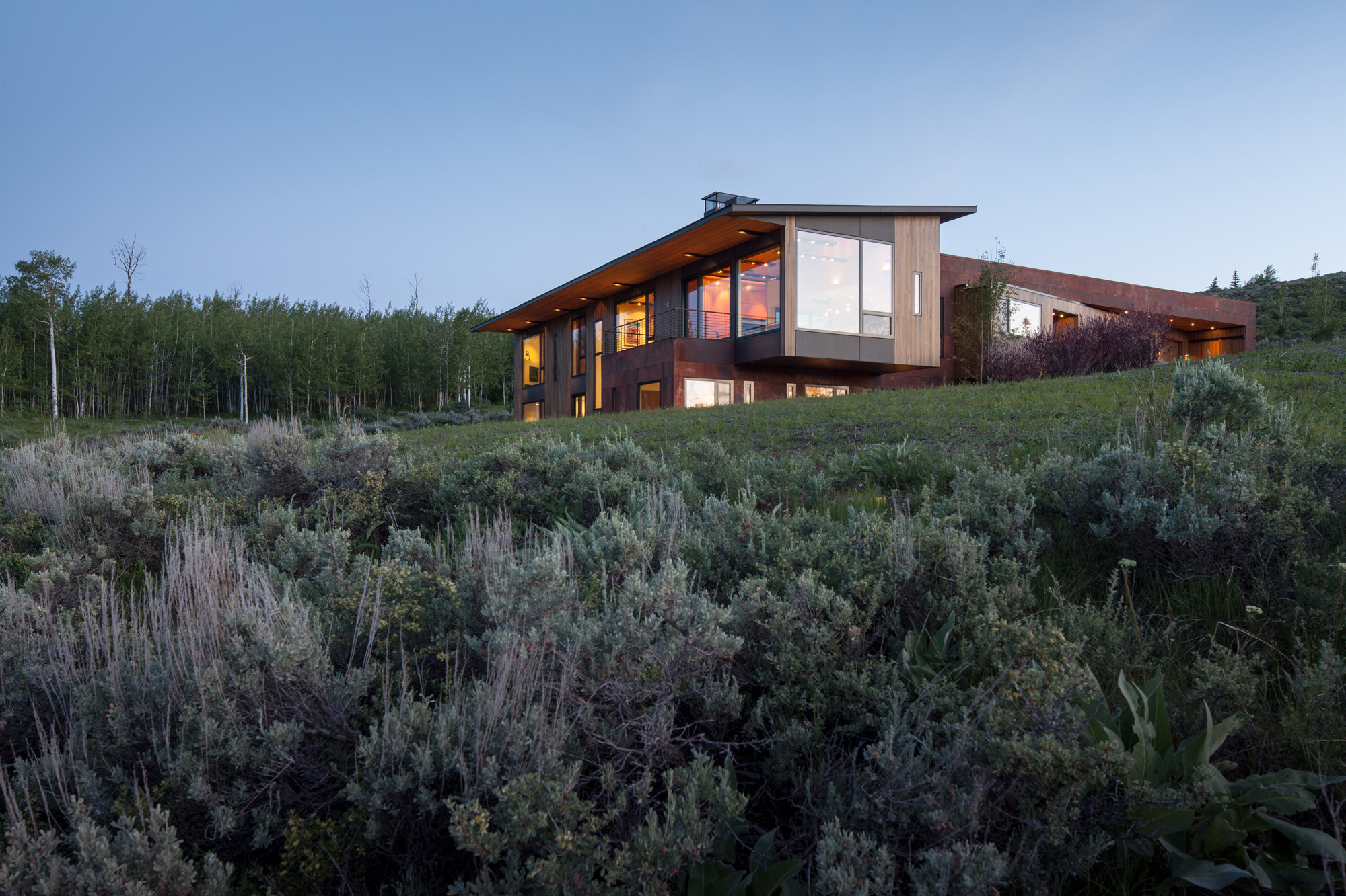 Gros Ventre Residence / Stephen Dynia Architects, Courtesy of Stephen Dynia Architects