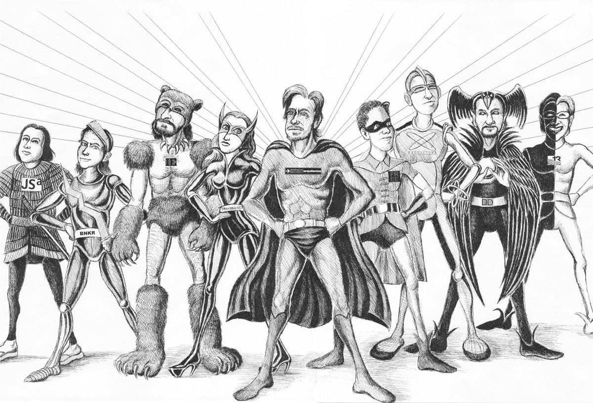 La nueva Escuela de Superheroes de la Arquitectura Mexicana