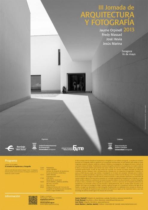 III Jornada de Arquitectura y Fotografía / Universidad de Zaragoza