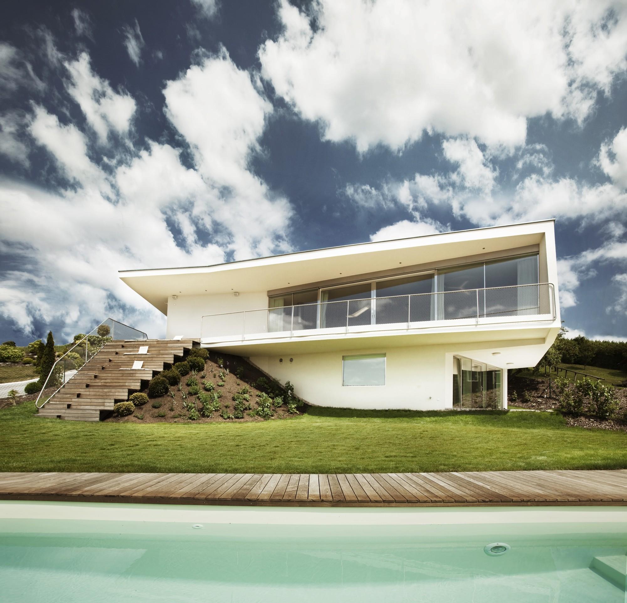 Gallery of villa p love architecture and urbanism 5 for Architecture villa