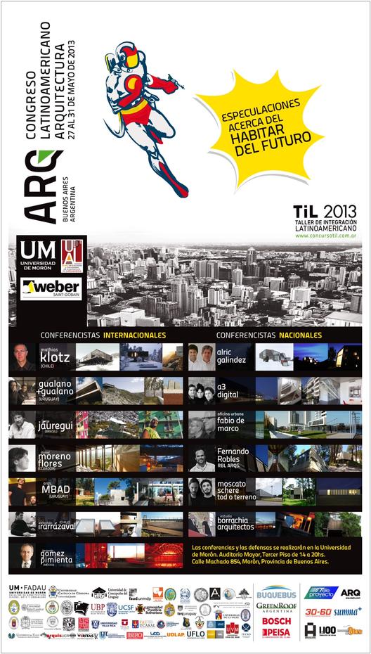 Congreso Latinoamericano de Arquitectura 2013