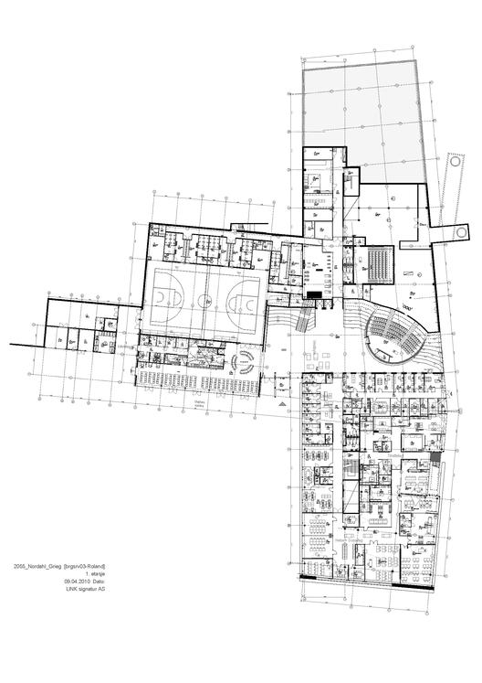 Nordahl Grieg High School / LINK arkitektur  ArchDaily