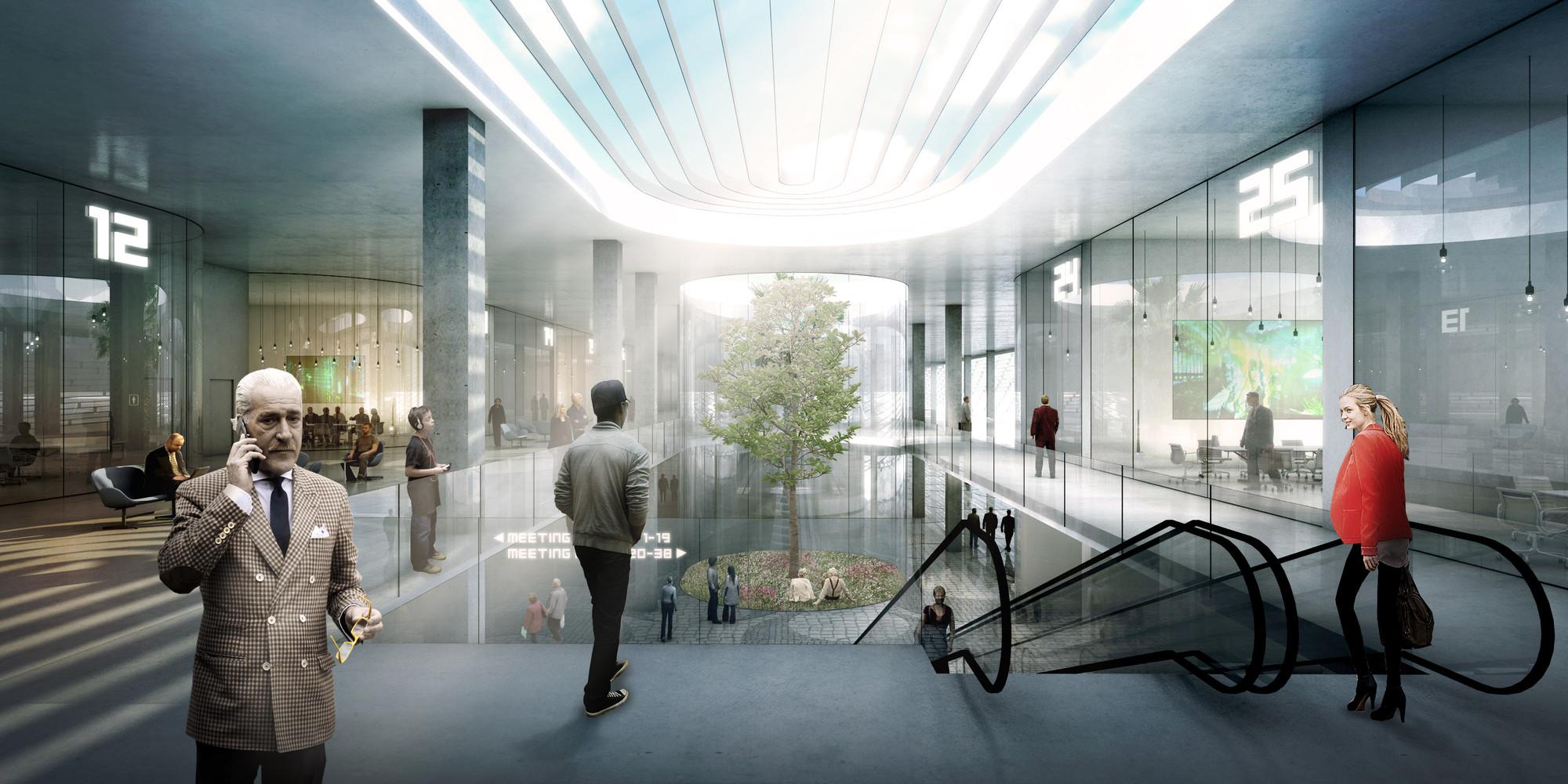 Gallery Of Big Unveils Design For Miami Beach Convention Center 21