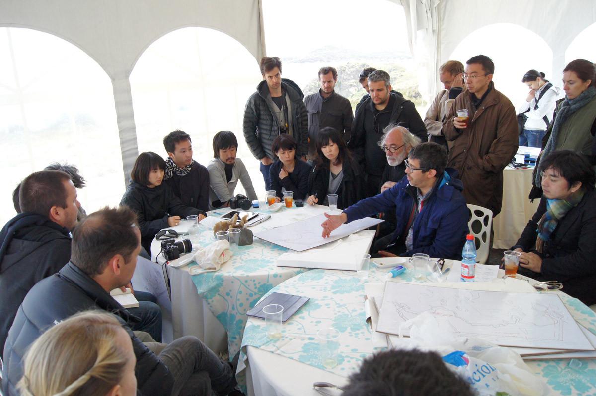 Discusión del Másterplan © Cortesía de Ochoalcubo