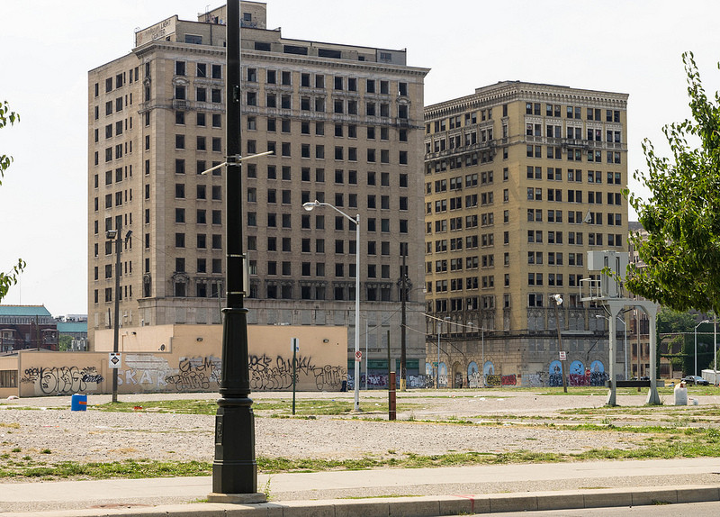 An Opportunity for Revitalization in Detroit, Detroit, Michigan; Courtesy of Flickr User DandeLuca, licensed via Creative Commons