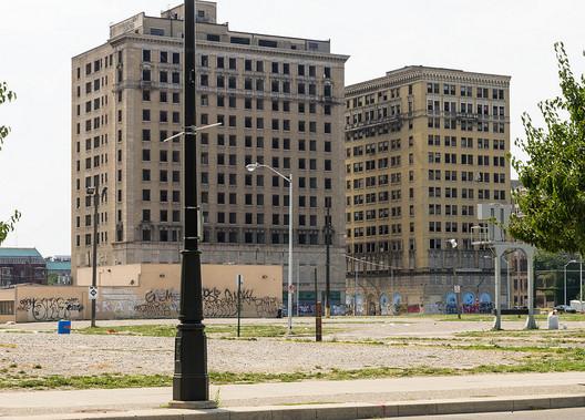 Detroit, Michigan; Courtesy of Flickr User DandeLuca, licensed via Creative Commons