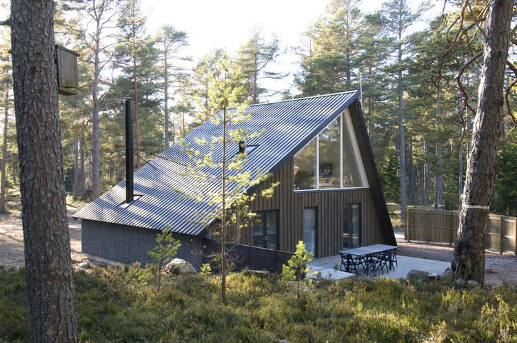 Hölick Sea Resort, Lodge No 2 / Mats Edlund & Henrietta Palmer, © Johan Cnattingius