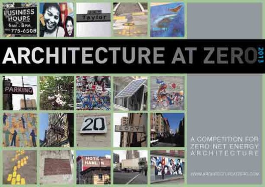 Architecture at Zero 2013 Competition, Courtesy of AIA San Francisco