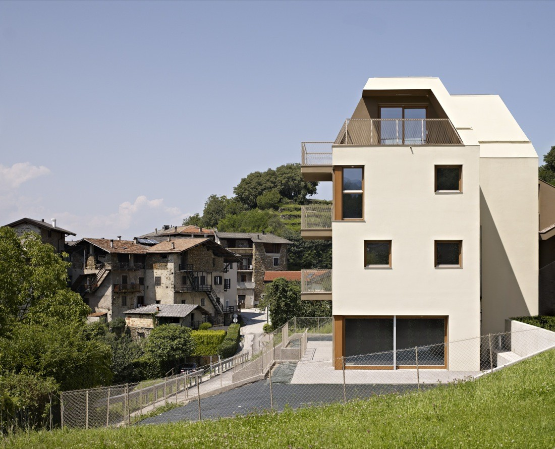 Gi Multi Family Housing Burnazzi Feltrin Architects