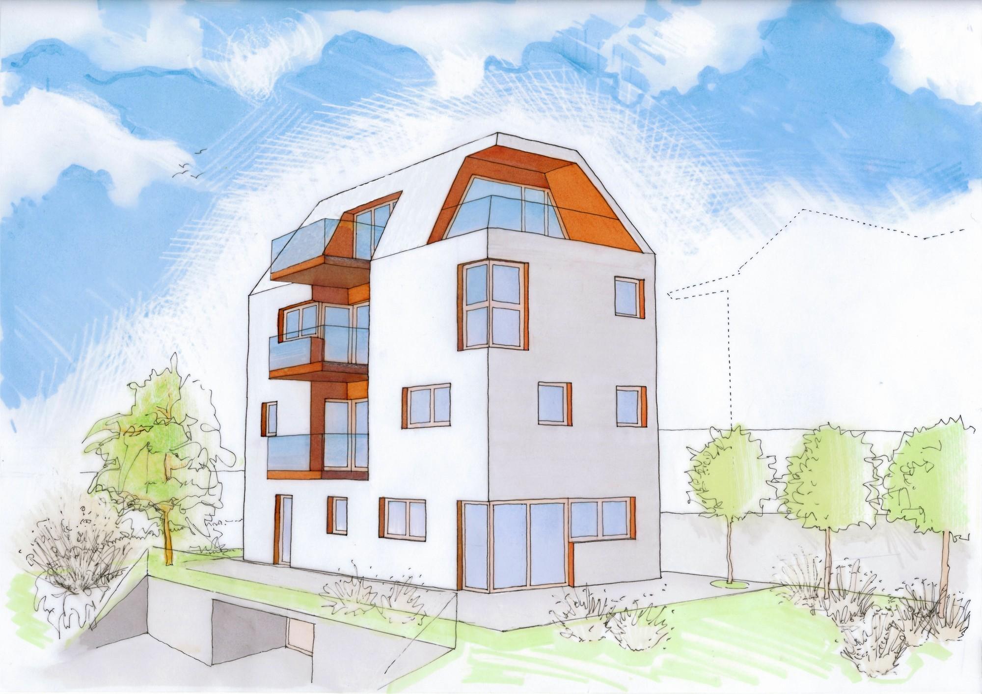 Gallery of gi multi family housing burnazzi feltrin for Multi family architecture