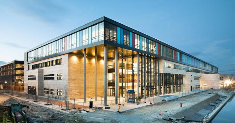 VÅGEN high school and SANDNES Culture Academy / LINK Arkitektur AS, © Hundven-Clements Photography