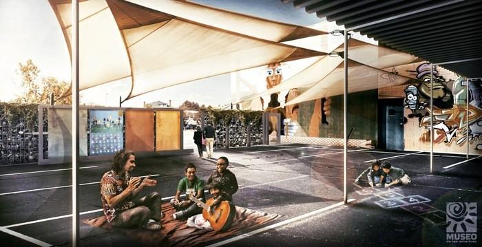 Kickstarter Campaign Aims to Transform Denver Parking Lot into Outdoor Classroom, Courtesy of Kickstarter