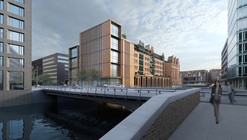Gebr. Heinemann Headquarters Extension Winning Proposal / gmp Architekten