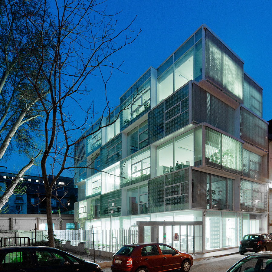 Gallery of vibrant geometry 3h architecture ltd 9 for Architect ltd