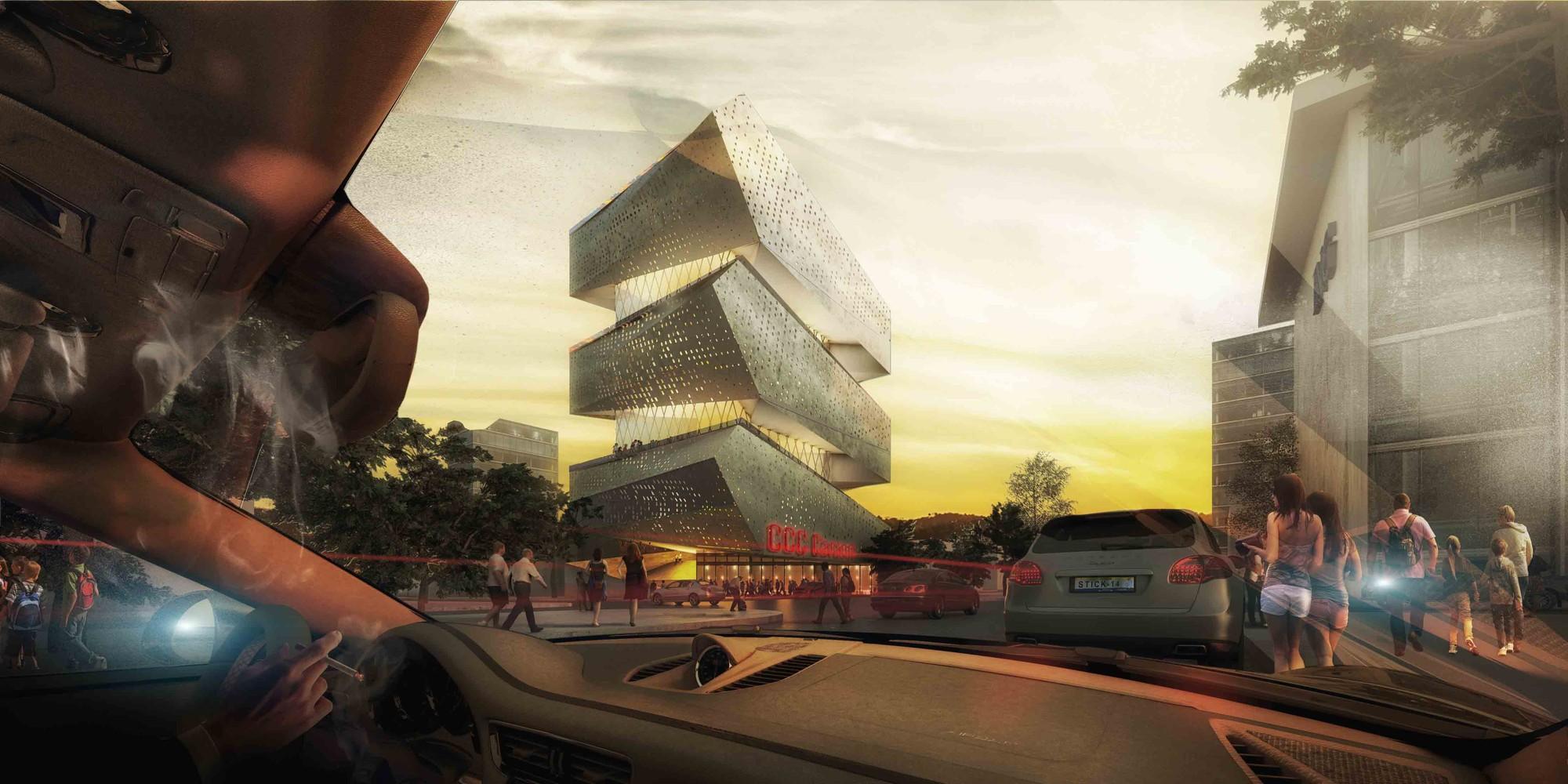 Mención Concurso Centro Cultural en Guadalajara / PM²G Architects, Cortesía de PM²G Architects