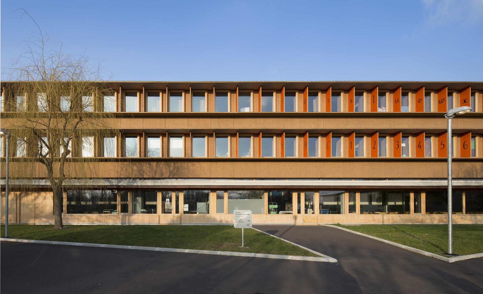 Henri Wallon Primary School / LEM + Architectes, © Luc Boegly